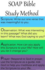 one of the most simple bible study methods take only a few