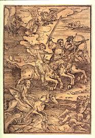 the four horseman of the apocalypse anonymous lucas cranach the
