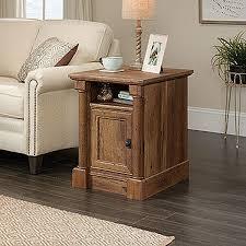 Sauder Nightstand Oak Palladia Side Table Vintage Oak D 420715 Sauder Woodworking