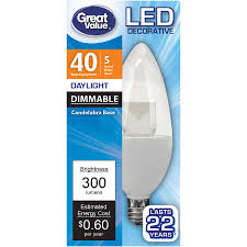 Led Light Bulbs With Candelabra Base by Tp Link Lb100 Smart Led Light Bulb Wifi Dimmable White 50w