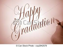 stock photographs of callligraphy happy graduation person
