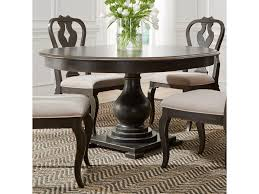 Round Pedestal Table Liberty Furniture Chesapeake Relaxed Vintage Round Pedestal Table