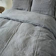 Grey Linen Bedding 100 Pure Linen Bedding Duvet Covers Natural Pure Linen Bedding