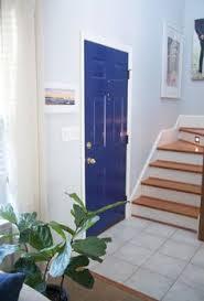 Navy Blue Front Door Our Front Door Painted In Benjamin Moore U0027s Midnight Navy Posts