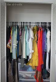 Closet Rods Diy Closet Makeover The D I Wife