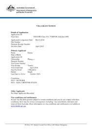 sample of invitation letter for visitor visa to australia wedding