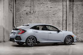 Is The Honda Civic Si Turbo Official 2017 Honda Civic Hatchback Arrives This Fall W 1 5