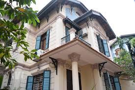 french colonial style french colonial style house to rent with garden to ngoc van