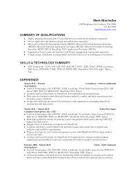 Resume Job Description For Server by Asp Net Project Description In Resume Resume For Your Job