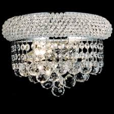 Crystal Wall Sconces Brizzo Lighting Stores Wall Sconces