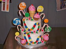 candyland decorations cakes the beautiful design of candyland