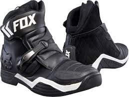 black motocross boots fox 17 boomber mx short boots black motocross off road dirt bike