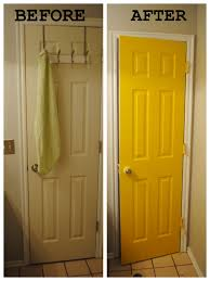 Interior Door Color Spruce Up Boring Doors With An Interesting Color For The Home