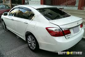 13 painted honda accord 9th sedan 4d oe type abs trunk pur roof