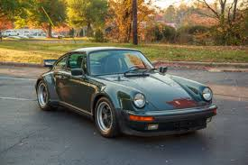 1986 porsche 911 turbo for sale 1986 porsche 911 turbo coupe 930 moss green metallic