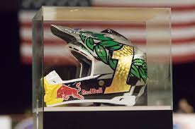 custom motocross helmet painting connor penhall memorial cup transworld motocross
