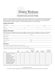 student teacher evaluation form 2 free templates in pdf word
