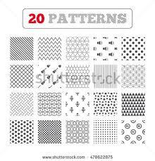 ornament patterns diagonal stripes mustache stock vector