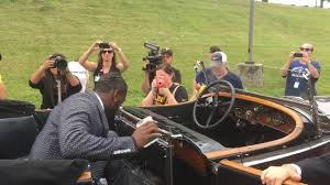 roll royce steelers antonio brown rides to pittsburgh steelers camp in rolls royce