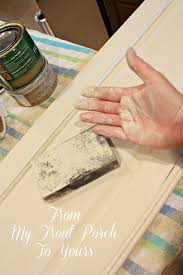 Paint Finish For Kitchen Cabinets Creating A French Country Kitchen Cabinet Finish Using Chalk Paint