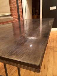 Homemade Kitchen Table by Diy Dining Table U2013 Mrs Amber Apple