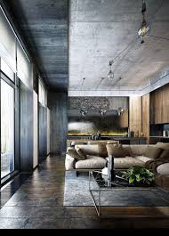 industrial style 3 modern bachelor apartment design ideas