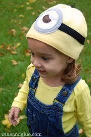 Toddler Minion Costume Minion Costume With Easy Minion Hat Wine U0026 Glue