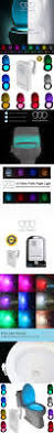 colorful motion sensor toilet nightlight gold armour home