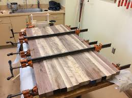table top glue up standing desk why and how