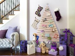 pictures of homes decorated for christmas color your christmas with these 10 artificial trees hgtv u0027s