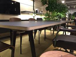 Joyn Conference Table Neocon 2016 Trend Unfinished Business Workwell Partners