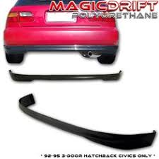 ebay honda civic parts details about for 92 95 civic 3dr hb eg t r poly urethane pu rear