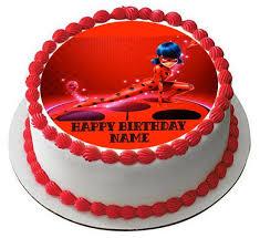 ladybug birthday cake miraculous ladybug wiki edible cake topper cupcake toppers