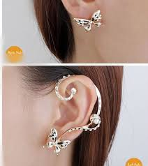 one ear earring jewelry baseball picture more detailed picture about one pair