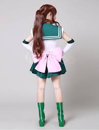 sailor moon sailor jupiter makoto kino cosplay costume halloween