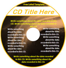 Free Label Template Word Excel Pdf Free Cd Template