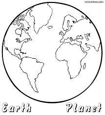 coloring planet coloring sheets