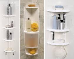 Bathroom Caddies Shower Plastic Corner Shower Caddy Choozone Bathtub Corner Shelf Nrc