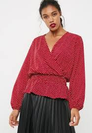 wrap shirts blouses s blouses buy casual work blouses superbalist
