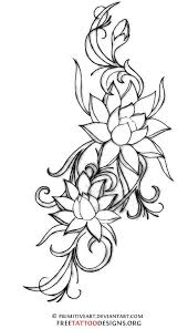 Simple Lotus Flower Drawing - best 25 lotus tattoo side ideas on pinterest tattoo ideas