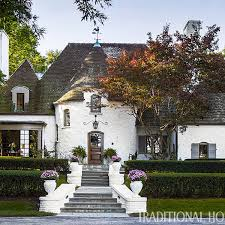 tudor style home with a modern makeover traditional home