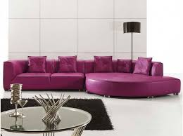 Purple Sectional Sofa Purple Leather Sectional Sofas For Your Room With Black Carpet