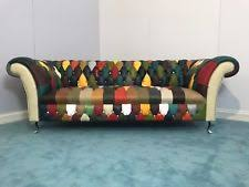 Chesterfield Sofa Patchwork Chesterfield Sofa Beds Ebay
