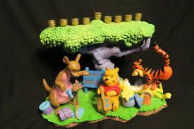 winnie the pooh menorah winnie pooh menorah the hanukah picnic ebay