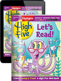 magazines for preschoolers u0026 kindergartners high five