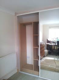 Glass Wardrobe Doors Wardrobe Mirrored Sliding Wardrobe Doors Uk Destroybmx Comr Door
