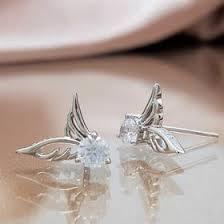 angel wing earrings angel earrings lindas s