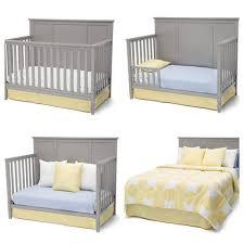 delta children epic 4 in 1 convertible crib gray walmart com