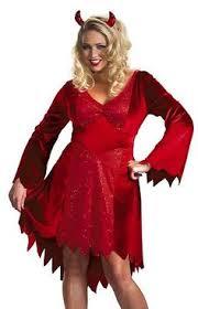 Halloween Costumes Devil Woman Delicious Inferno Devil Costume Red Large Fun U0026