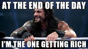 Hater Meme - an actual quote by roman reigns about his haters wwe